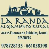 Web de La Randa, alojamiento rural